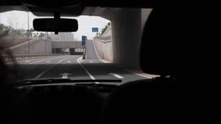 man driving in chengdu china