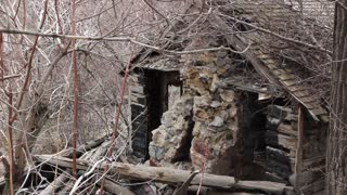 Old burned cabin 2