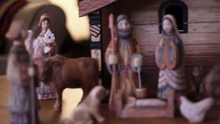 Panning Nativity Scene