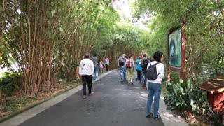 road to jiuzhaigou valley national park in china near chengdu