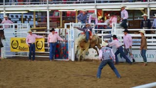 Slow Motion Wild West Rodeo