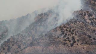 Smoke Rising After Fire