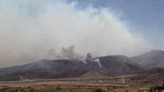 Spreading Mountain Fire