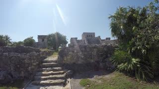 The Beautiful Beach Side Mayan Ruins In Tulum Mexico