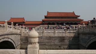 the forbidden city palace in beijing china