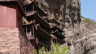 the hanging temple monastery at datong china dolly