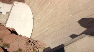 The incredible Hoover dam near Las Vegas