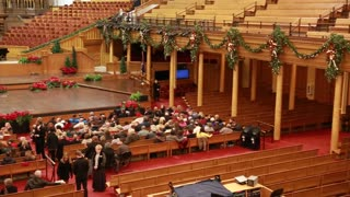 The mormon tabernacle in Salt Lake City