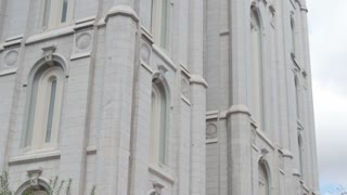 The Mormon Temple at Salt Lake City Utah
