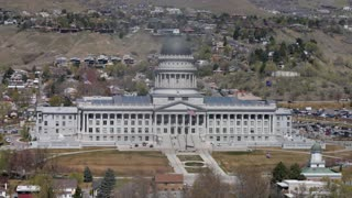 The Utah State Capitol Building in Salt Lake City