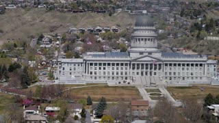 The Utah State Capitol Building in Salt Lake