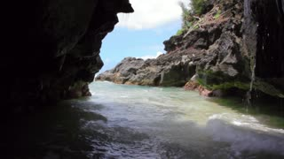 Tropical Sea Cave