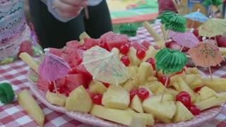 Delicious Hawaiian Food At A Family Party