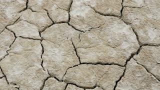 Dried And Cracked Desert Floor In Utahs West Desert