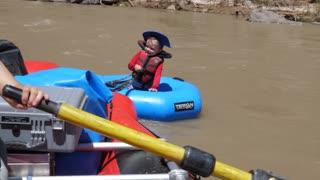 Families Raft Down The San Juan River In Southern Utah