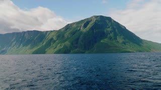 Mountain Peaks And Fjord Lake Of Western Brook Pond In Gros Morne