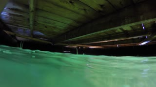 Underneath The Ocean Dock