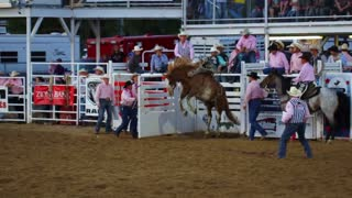 Wild West Rodeo Slow Motion