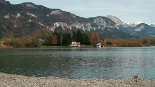 Austrian Mountain with lake 3