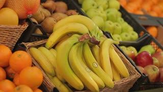 Bananas 2 - fresh fruit at grocery