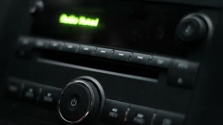 Car radio with CD player