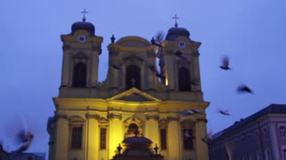 Catholic Dome in Union Square - Morning 01