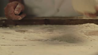 Hand Cutting Dough