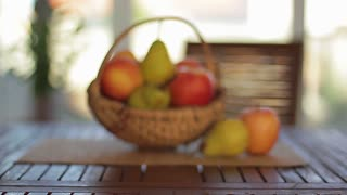 Organic fruits in a basket 1
