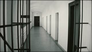 Prison building from eastern bloc during communist era (1940s, 1950s).