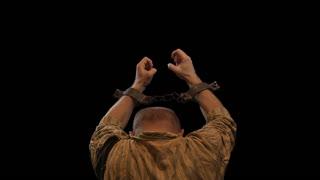 Prisoner in chains - alpha