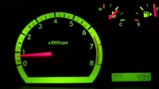 Real Car Tachometer 1