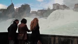 Rhine waterfall 4