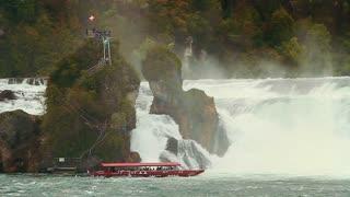 Rhine waterfall - three shots