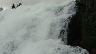 Rhine waterfall - two shots