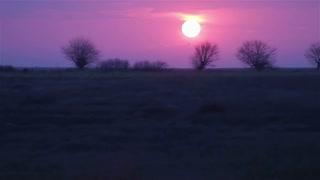 Sunrise from train 2