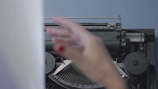 Typewriting - montage