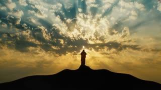 Christ praying on the Mount - ELS