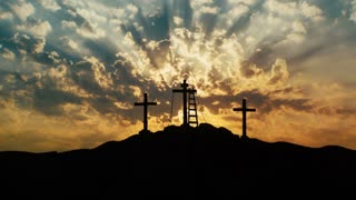Crosses on Calvary Hill