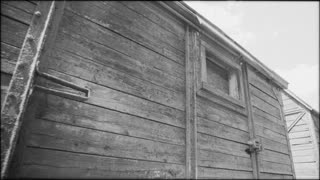 Holocaust train in Romania - scenic