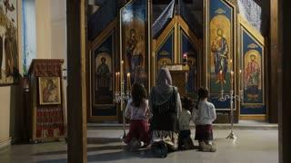 Inside of the Orthodox Church - LS
