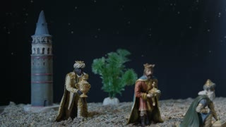 Nativity Scene - Adoration Of The Magi