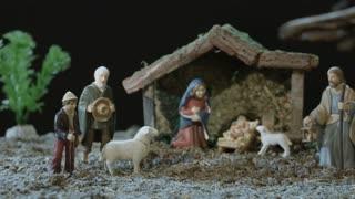 Nativity Scene - Pan Shot