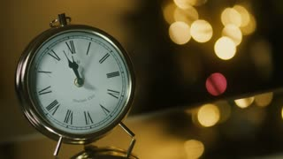 New Year Clock - background loop