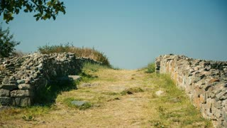 Old path of the ancient Greek colony of Histria