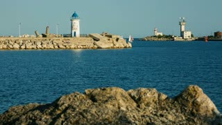 Port at the Black Sea