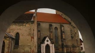 Reformed Church inside Aiud Citadel - entrance