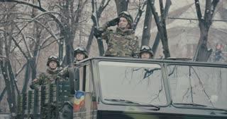 Romanian military parade 09