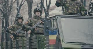 Romanian military parade 12