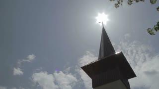 Wooden Church Tower 01