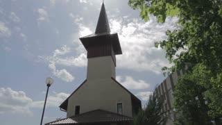 Wooden Church Tower 03